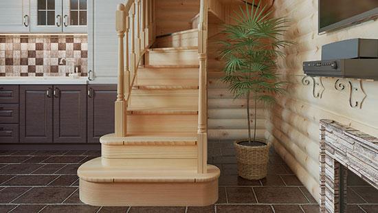 zandstralen van trappen